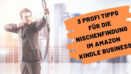 3 Profi Tipps für die Nischenfindung im Amazon Kindle Business