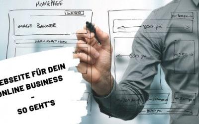 Webseiten bauen: eBook Business, Affiliate Marketing, Blog
