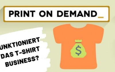 Meine Erfahrungen mit dem T-Shirt Business – Funktioniert es?