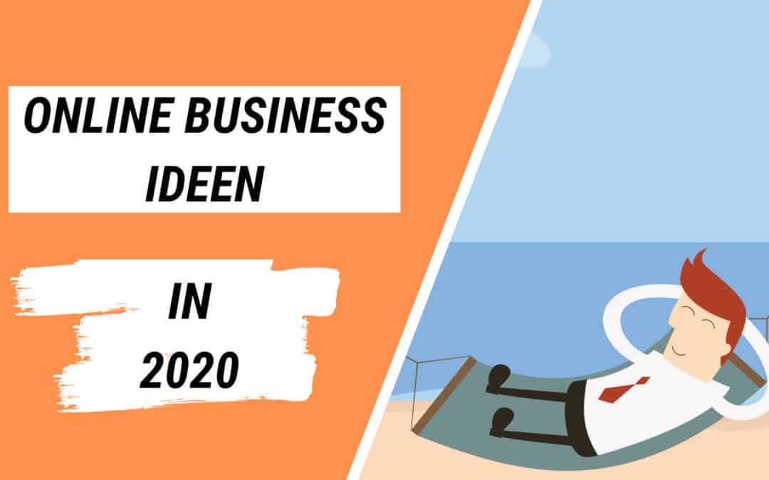 online business in 2020 starten