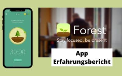 Konzentriert bleiben durch Bäume pflanzen – Forest App Erfahrungsbericht