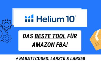 Helium 10 Erfahrungsbericht 2021 für Amazon FBA Seller: Das beste Keyword Tool für Amazon Verkäufer + Rabatt für Helium 10