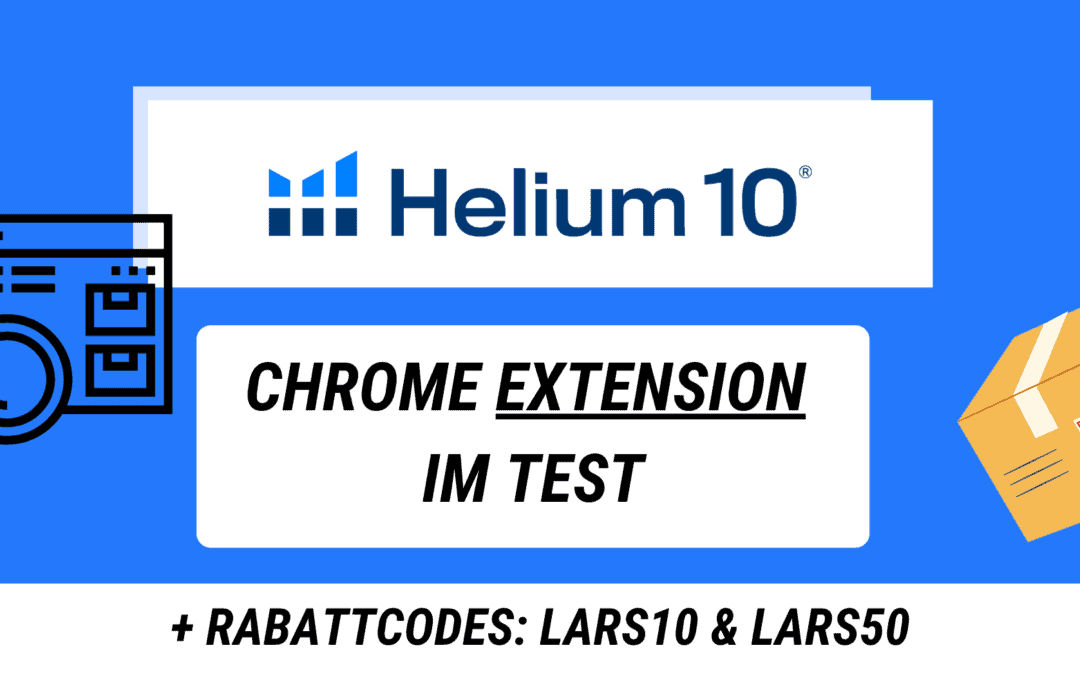 Helium 10 Extension Test + Anleitung – Erfahrung mit Helium 10 Xray
